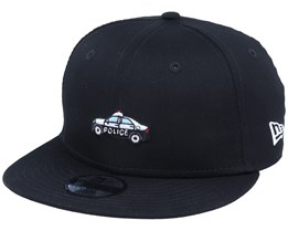 Kids Transport Police 9Fifty Black/White Snapback - New Era