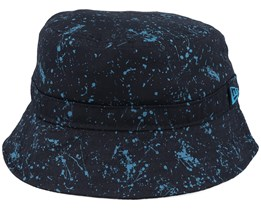 Kids Splat Black/Steel Blue Bucket - New Era
