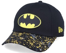 Kids Splatter 9Forty Batman Black/Yellow Adjustable - New Era