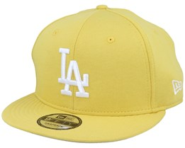 Los Angeles Dodgers Jersey Pack 9Fifty Yellow/White Snapback - New Era