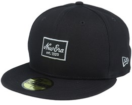 Essential NE 59Fifty Black/Grey Fitted - New Era