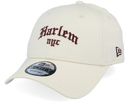 Harlem Borough 9Forty Beige/Maroon Adjustable - New Era