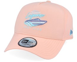 Laguna Beach A-Frame Peach/Teal Adjustable - New Era