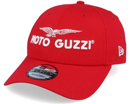 Moto Guzzi Sp20 9Forty Scarlet/White Adjustable - New Era