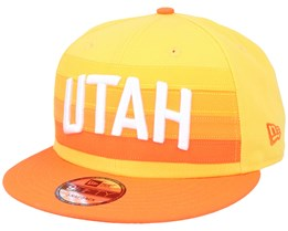 Utah Jazz 9Fifty Yellow/Orange Snapback - New Era