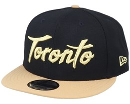 Toronto Raptors 9Fifty Black/Gold Snapback - New Era