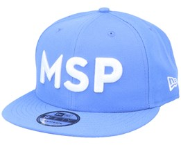 Minnesota Timberwolves 9Fifty Light Blue/White Snapback - New Era