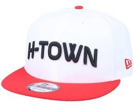 Houston Rockets 9Fifty White/Red Snapback - New Era