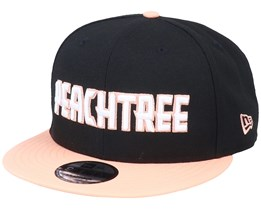 Atlanta Hawks 9Fifty Black/Peach Snapback - New Era