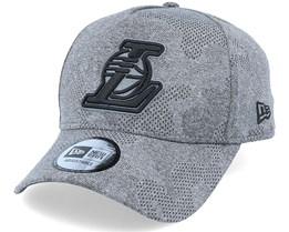 LA Lakers Engineered Plus 39Thirty Heather Grey/Black Flexfit - New Era