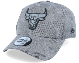 Chicago Bulls Engineered Plus Heather Grey/Black Adjustable - New Era