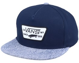 Full Patch Navy/Dress Blues Snapback - Vans