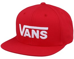 Drop V II Racing Red Snapback - Vans