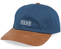 Curved Bill Jockey Stargazer Blue/Brown Adjustable - Vans