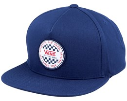 Og Checker Dress Blue Snapback - Vans