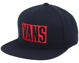 New Stax Black/Red Snapback - Vans