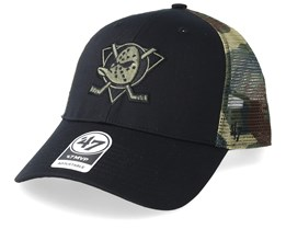 Anaheim Ducks Back Switch 47 Mvp Black/Camo Trucker - 47 Brand