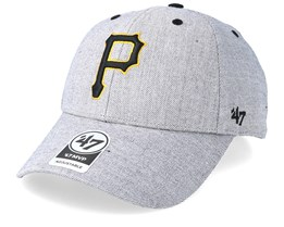 Pittsburgh Pirates Storm Cloud 47 Mvp Wool Charcoal Adjustable - 47 Brand