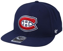 Montreal Canadiens No Shot 47 Captain Light Navy Snapback - 47 Brand