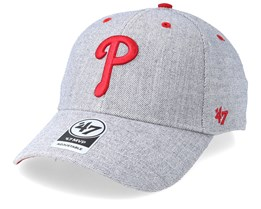 Philadelphia Phillies Storm Cloud 47 Mvp Wool Charcoal Adjustable - 47 Brand