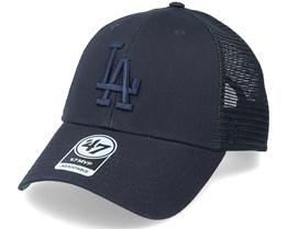 Los Angeles Dodgers Branson Mvp Navy Trucker - 47 Brand