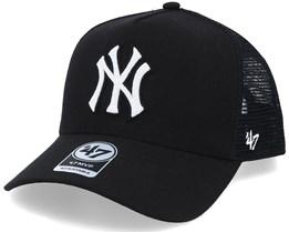 New York Yankees Mvp DT Black/White Trucker - 47 Brand