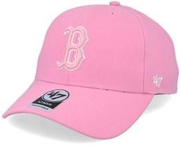 Boston Red Sox Mvp Rose Pink/White Adjustable - 47 Brand
