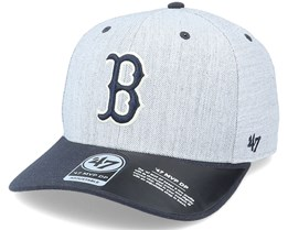 Boston Red Sox Storm Cloud TT Mvp DP Heather Grey/Navy Adjustable - 47 Brand