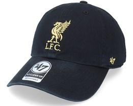 Liverpool Fc Clean Up Black Dad Cap - 47 Brand