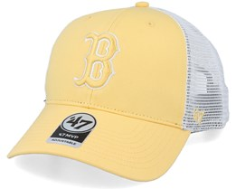 Boston Red Sox Flagship Mvp Maize/White Trucker - 47 Brand
