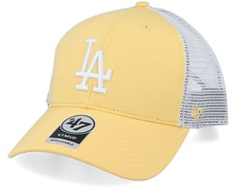 Los Angeles Dodgers Flagship Mvp Maize/White Trucker - 47 Brand