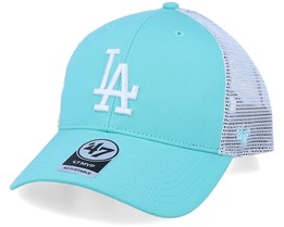 Los Angeles Dodgers Flagship Mvp Tiffany Blue/White Trucker - 47 Brand