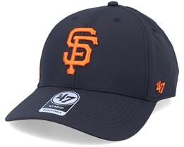San Francisco Giants Mvp Momentum Black/Orange Adjustable - 47 Brand