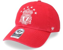 Liverpool FC Clean Up Red Dad Cap - 47 Brand