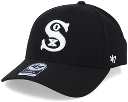 Chicago White Sox Cooperstown Mvp Black/White Adjustable - 47 Brand