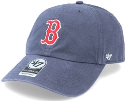 Boston Red Sox Upland Clean Up Dad Cap Vintage Navy Adjustable - 47 Brand