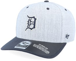Detroit Tigers Storm Cloud TT Mvp DP Heather Grey/Navy Adjustable - 47 Brand