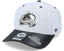 Colorado Avalanche Storm Cloud TT Mvp DP Heather Grey/Black Adjustable - 47 Brand