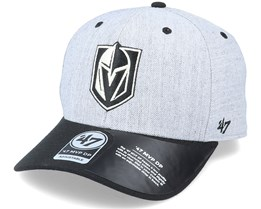 Vegas Golden Knights Storm Cloud TT Mvp DP Heather Grey/Black Adjustable - 47 Brand