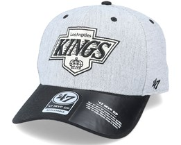 Los Angeles Kings Storm Cloud TT Mvp DP Heather Grey/Black Adjustable - 47 Brand