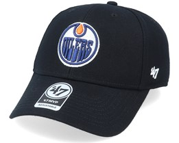 Edmonton Oilers Mvp Black/White Adjustable - 47 Brand