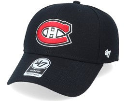 Montreal Canadiens Mvp Black/Red Adjustable - 47 Brand