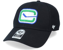 Vancouver Canucks Mvp Black/White Adjustable - 47 Brand