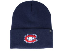 Montreal Canadiens Haymaker Light Navy Cuff - 47 Brand
