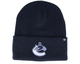 Vancouver Canucks Haymaker Navy Cuff - 47 Brand
