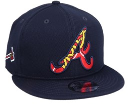 Atlanta Braves MLB 9Fifty Batting Practise Navy Snapback - New Era