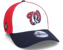 Washington Nationals MLB 39Thirty Batting Practise White/Navy/Red - New Era