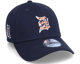 Detroit Tigers MLB 39Thirty Batting Practise Navy Flexfit - New Era