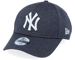 Kids New York Yankees Team Shadow Tech 9Forty Dark Blue/Silver Adjustable - New Era