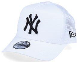Kids New York Yankees Essential 9Forty A-Frame White/Black Trucker - New Era